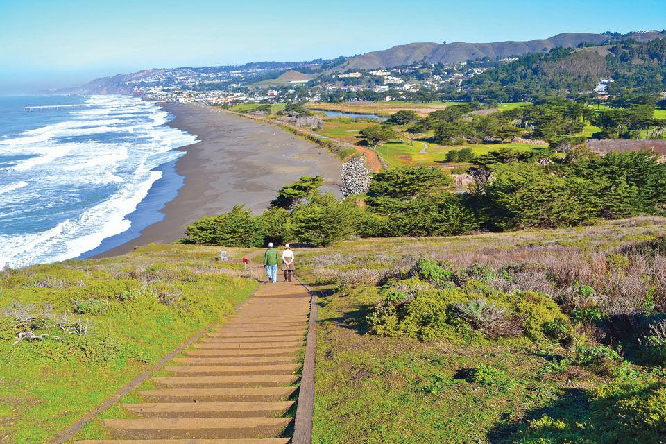 View of Pacifica from Mori Point