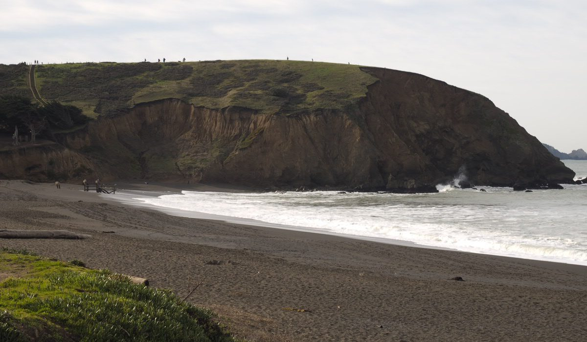 Mori Point-Sharp Park Beach
