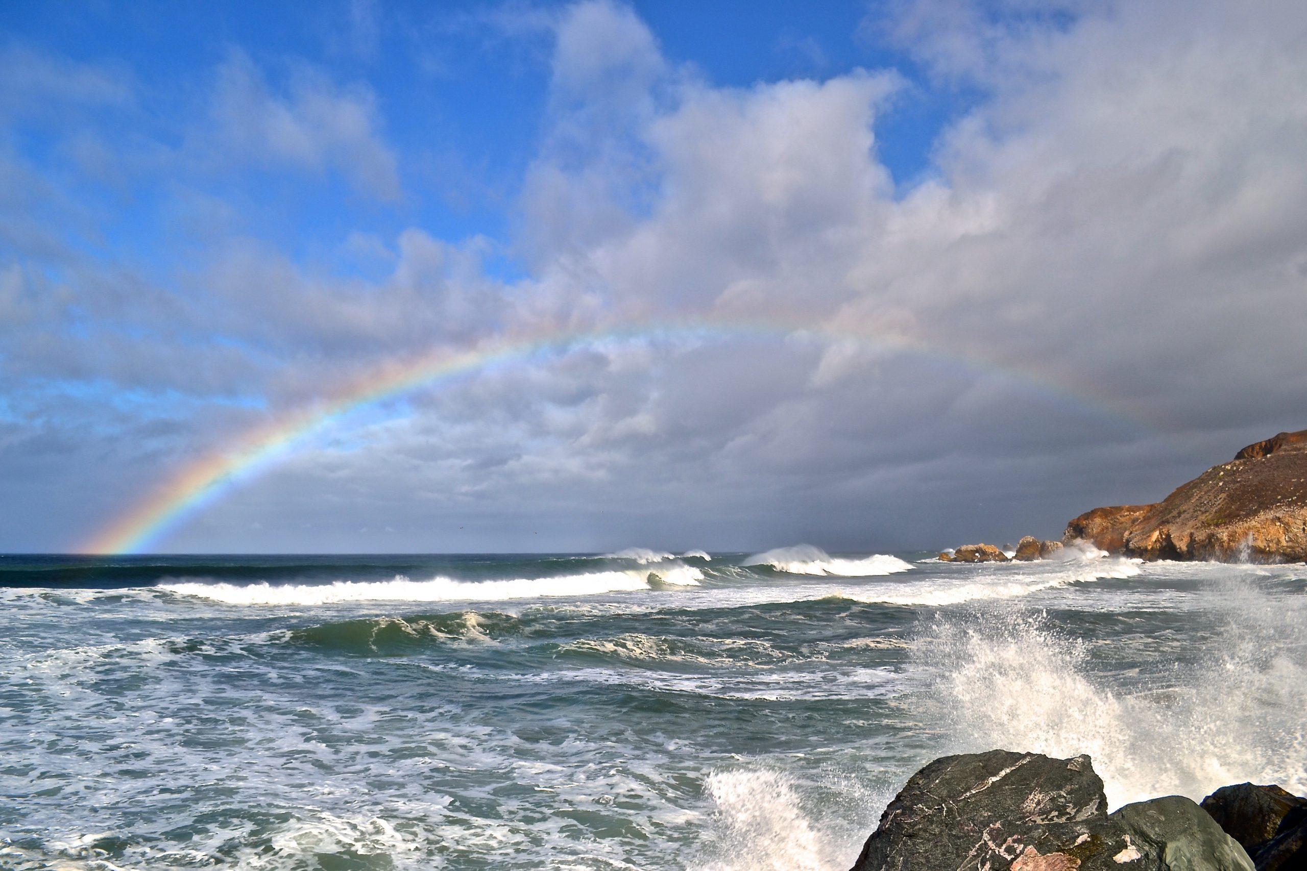 Rockaway Beach Rainbow